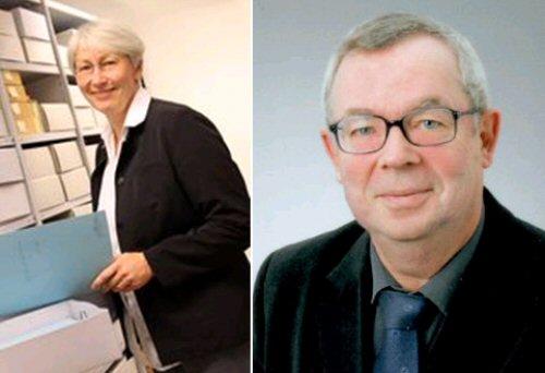 Abb.: Dr. Monica Sinderhauf und Dr. Martin Persch (Fotos: Bistum Trier)