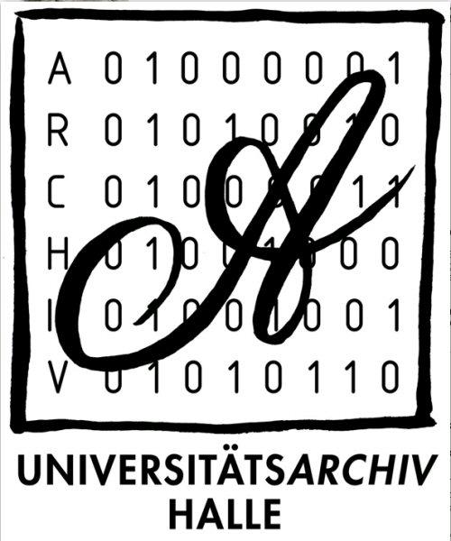 Das neue Logo des Universitätsarchivs Halle-Wittenberg