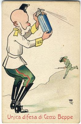 Propagandakarte (Österreichisches Staatsarchiv)