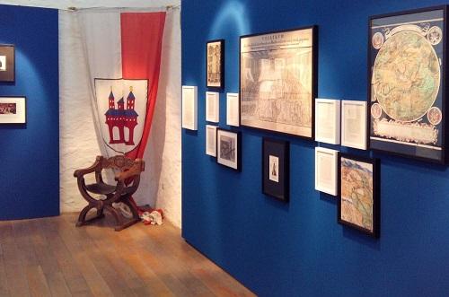 Abb.: Einblick in die Dauerausstellung zum Speyerer Reichskammergericht (Foto: Stadt Speyer)