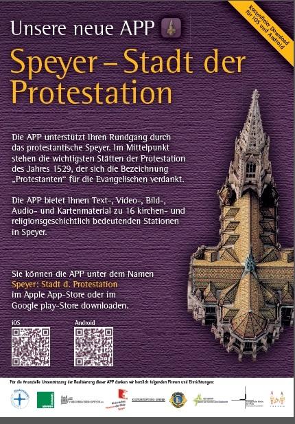App 'Speyer - Stadt der Reformation'