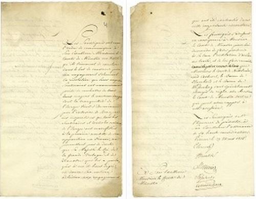 Neue Gefahr für den Frieden in Europa (1815) (NLA - Hannover - Dep. 110 A Nr. 53)