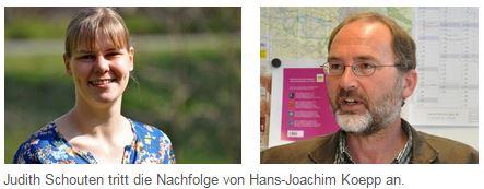 Judith Schouten folgt im Stadtarchiv Goch auf Hans-Joachim Koepp (Foto: Stadt Goch)